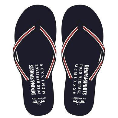 HV Polo Society Slippers Kurt Navy 42