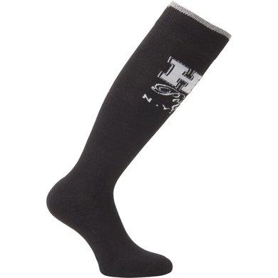 HV Polo Sokken Bold lang Black 35-38