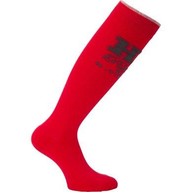HV Polo Sokken Bold lang Bright Red 35-38