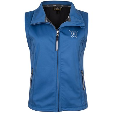HV Polo Softshell Bodywarmer Aurora Ink Blue L