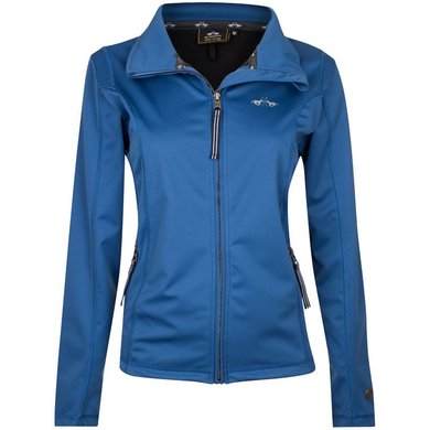 HV Polo Softshell Jacket Evi Ink Blue L
