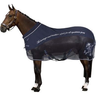 HV Polo Softshell Mesh Furioso Blanket Navy 185