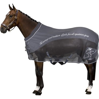 HV Polo Softshell Mesh Furioso Blanket Warm Charcoal 215
