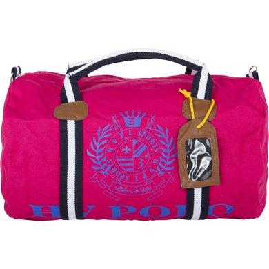 HV Polo Sporttas Canvas Gias Pink-Cobalt