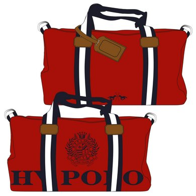 HV Polo Sporttas Canvas Gias Red-Navy