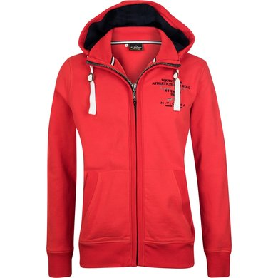HV Polo Society Jack Grayson met capuchon Bright Red M