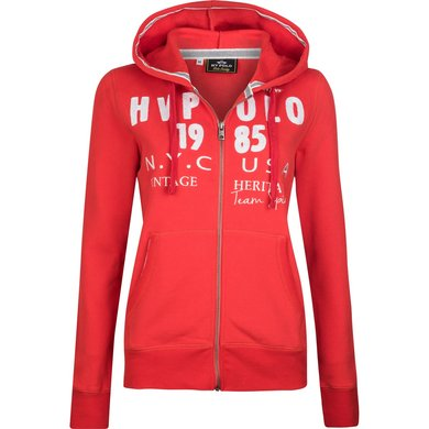 HV Polo Jack Ribo met capuchon Bright Red M