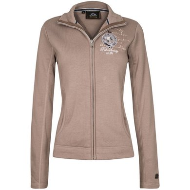 HV Polo Sweat Jacket Arela Light Taupe S