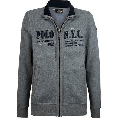 HV Polo Society Jack Melville Grey Melange XXL
