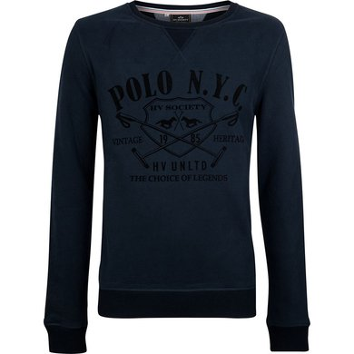 HV Polo Society Pullover Warner Navy L