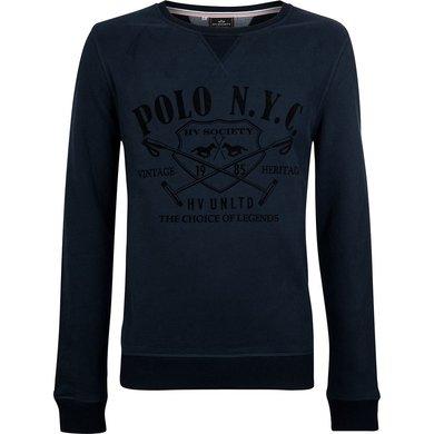 HV Polo Society Pullover Warner Navy XXL
