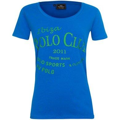 HV Polo T-Shirt Caleta Azure L