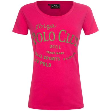 HV Polo T-Shirt Caleta Carmin Rose L