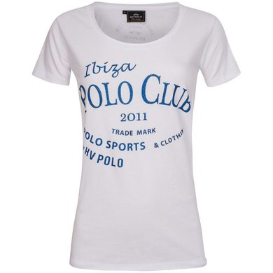 HV Polo T-Shirt Caleta White L