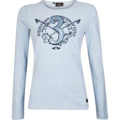 HV Polo T-Shirt Elaine Air melange L