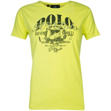HV Polo T-Shirt Flo Lime L
