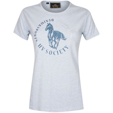 HV Polo T-Shirt Jaron Lightblue Melange M