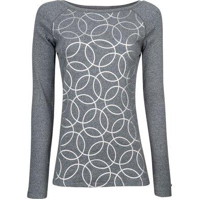 HV Polo Society Shirt rib jersey Zelena Grey Melange XS