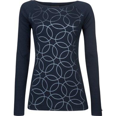 HV Polo Society Shirt rib jersey Zelena Navy L