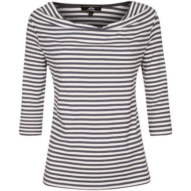 HV Polo Society Top Janne Charcoal-White XXL