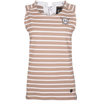 HV Polo Society Top Mabelle Light Taupe XXXL