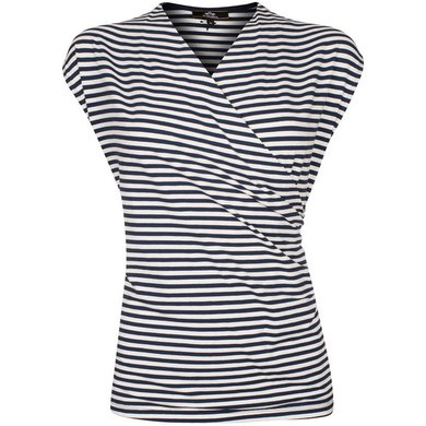 HV Polo Society Top Ruby Navy-White XXL