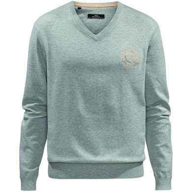 HV Polo Society V Neck Favouritas H Grey Melange XXXL
