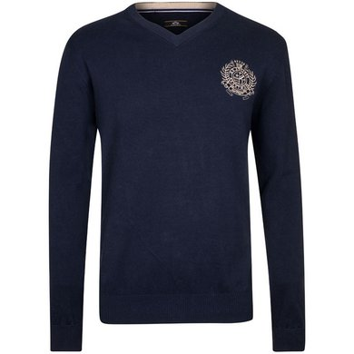 HV Polo Society V Neck Favouritas H Navy XXL