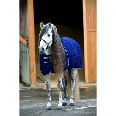 Rambo Stable Rug M/F Medium Navy White