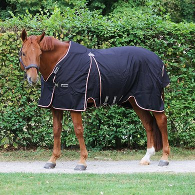 Rambo Optimo Stable Rug Black orange