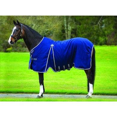 Rambo Optimo Stable Rug Navy Beige