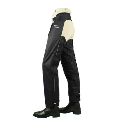 Horseware Long Chaps Fleece Lined Black XS