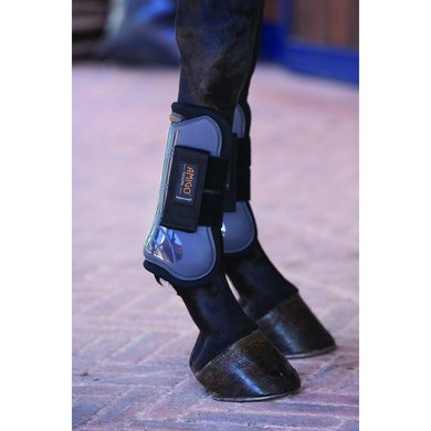 Amigo Tendon Boots Charcoal