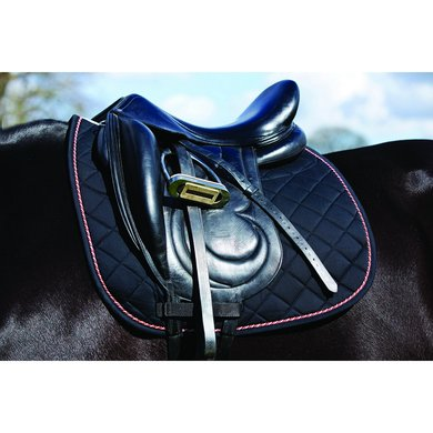 Rambo Grand Prix Saddle Pad Dressage Black orange