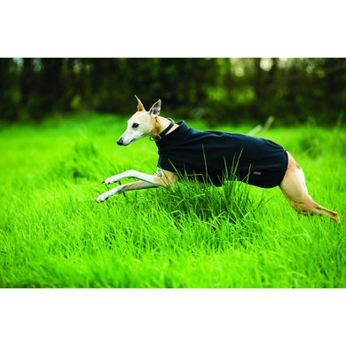 Amigo Hundedecke Fleece Black Extra Large