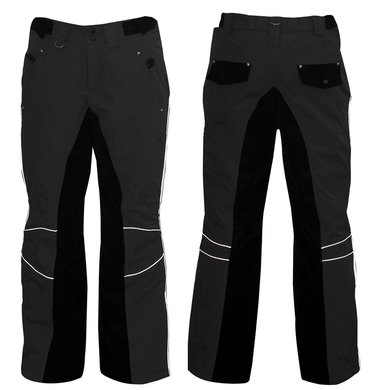 Impulz Thermobroek Global Bootcut Zwart