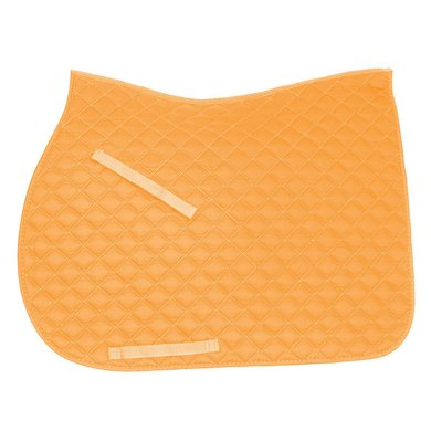 IR Tapis de Selle Economic Carré Polyvalent Néon Orange Full