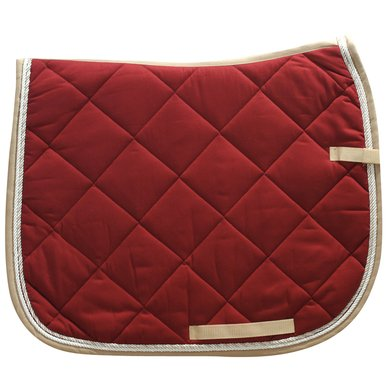 Imperial Riding Saddlepad Dressage Italy Red-Beige