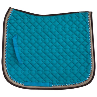 Imperial Riding Saddlepad DS Verona D Brown-Teal Full