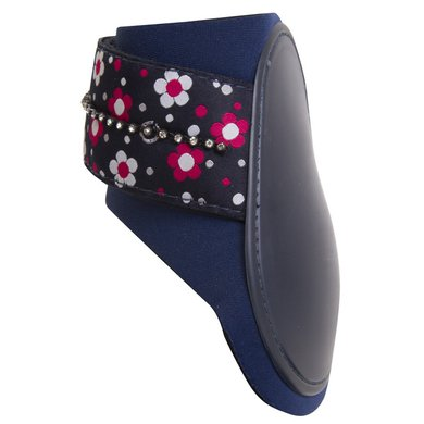 Imperial Riding Strijklap Basic Fashion Flower navy Cob