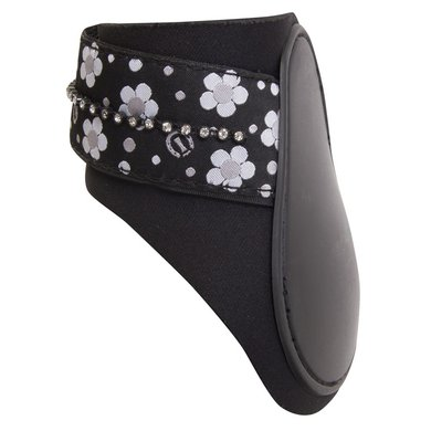 Imperial Riding Strijklap Basic Fashion Flower black Cob