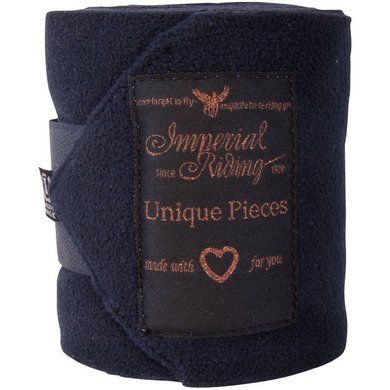 Imperial Riding Bandages Fleece Easy Going Navy
