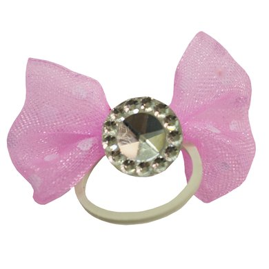 Imperial Riding Show-Bows Zakje Crystal Pink 20st