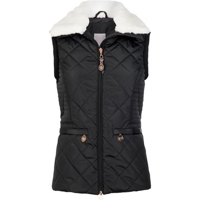 Imperial Riding Bodywarmer Fire And Ice Black L