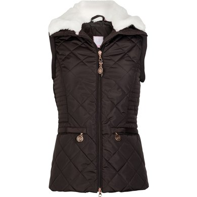 Imperial Riding Bodywarmer Fire And Ice Brown M
