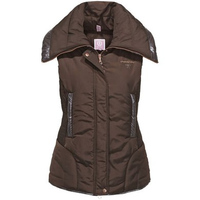 Imperial Riding Bodywarmer gevoerd Wonderful Woman Brown XL