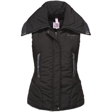 Imperial Riding Bodywarmer gevoerd Wonderful Woman Black L