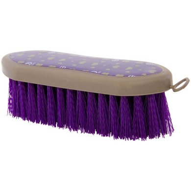Imperial Riding Borstel Dandy Brush hard Hearts Purple