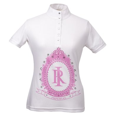 Imperial Riding Cult wedstrijdshirt Hollywood kids White 176