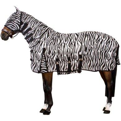 IR Vliegen-UV Deken met Hals Masker en Buikflap Zebra